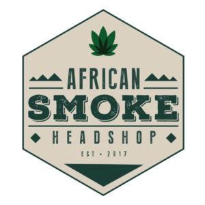 Online Headshop African Smoke Logo