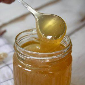 Cannabis Honey Jar With Spoon