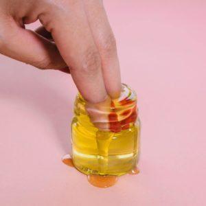 Bee Resourceful Honey Fingers In Honey Pot