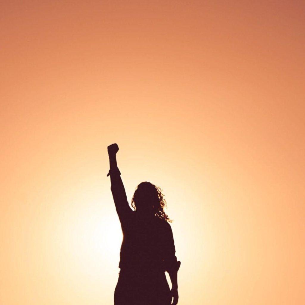 Warrior Celebrating Victory