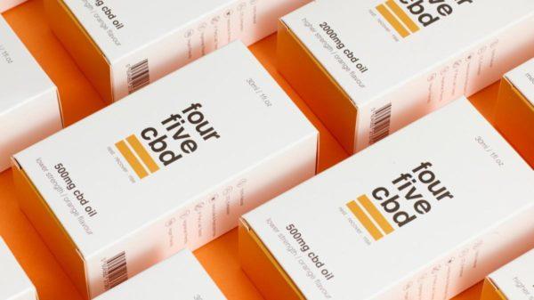 fourfive CBD Orange Flavour Oil